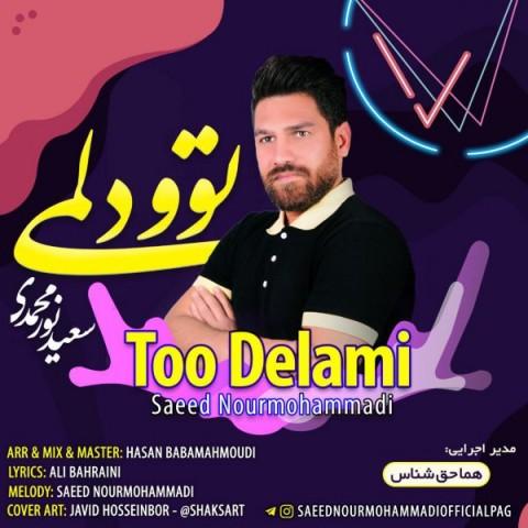 دانلود اهنگ جدید سعید نورمحمدی تو دلمی